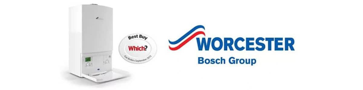 We are approved to install Which? recommended Worcester Bosch boilers