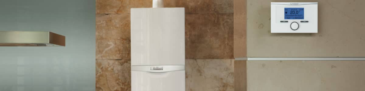 Vaillant gas boiler in kitchen in Mold