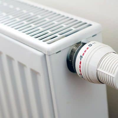 Radiator in Wrexham home